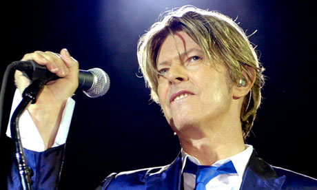 Photo of David Bowie Courtesy of Guardian.uk.co