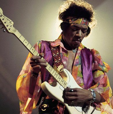 Jimi Hendrix's Backwards Stratocaster Photo Courtesy of Ultimateguitar.com