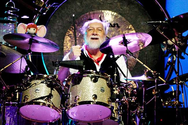 Photo of Mick Fleetwood Courtesy of Mediadump.com