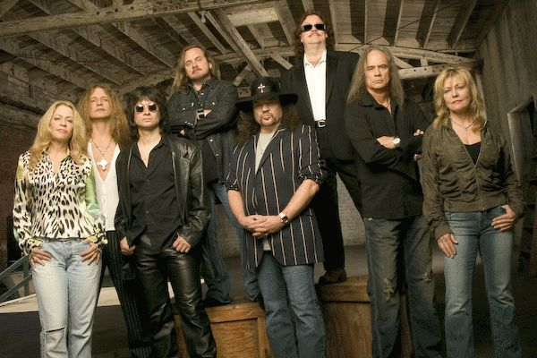 Lynyrd Skynyrd photo courtesy of wvafm.ua.edu